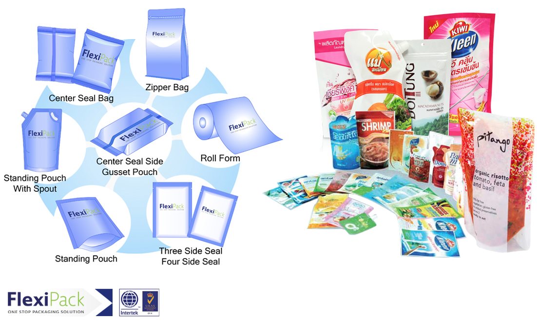 FLEXIBLE PACKAGING (LAMINATE BAG) 1
