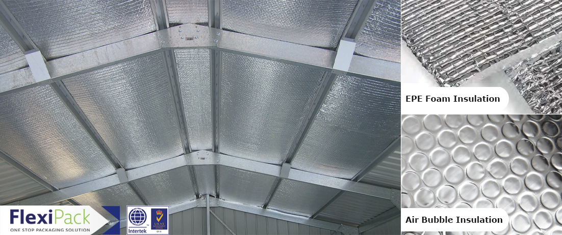 EPE FOAM INSULATION & AIR BUBBLE INSULATION 2